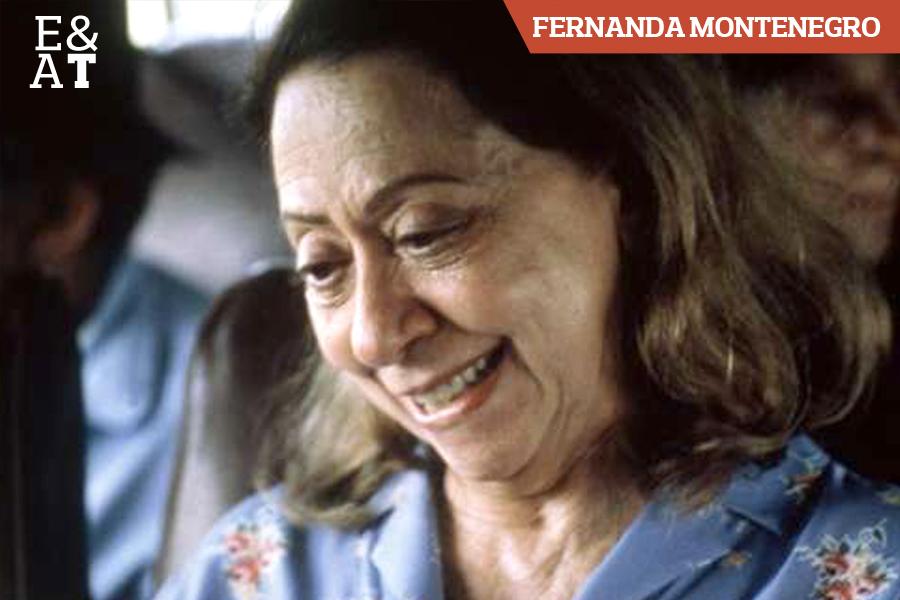 Fernanda Montenegro em Central do Brasil (1998)