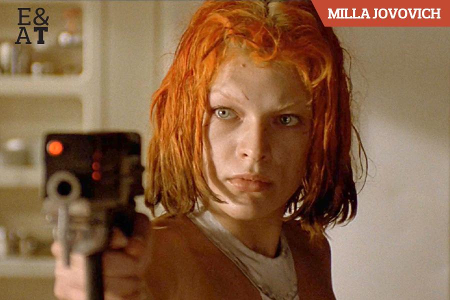 Milla Jovovich em O Quinto Elemento (1997)