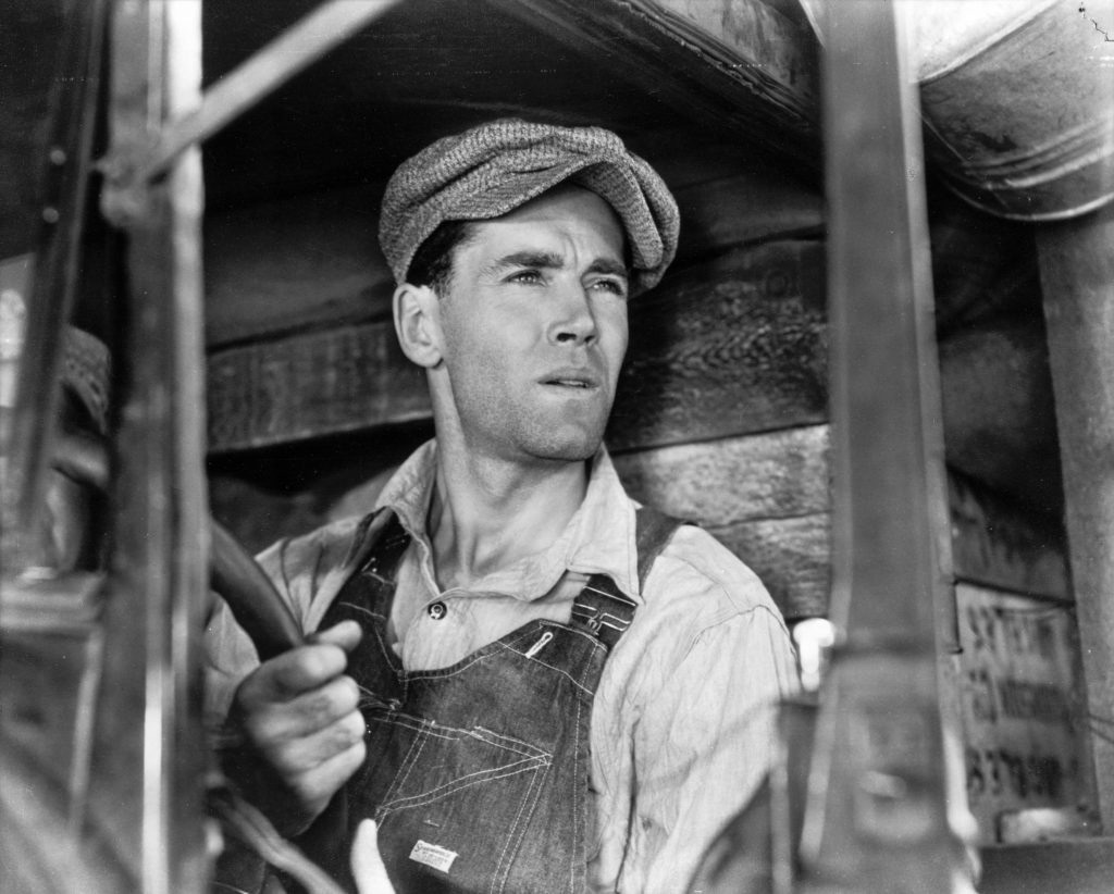 As Vinhas da Ira (1940): Tom Joad (Henry Fonda)