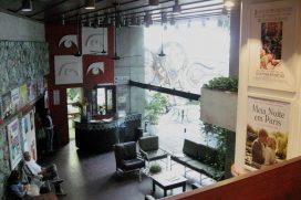 Visita privilegiada: sala de projeção Cinema do Museu em Salvador