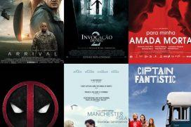 Top 10 filmes lançados em 2016