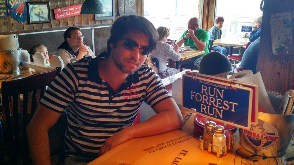 Viagem de cinema pela Califórnia: restaurante temático Forrest Gump