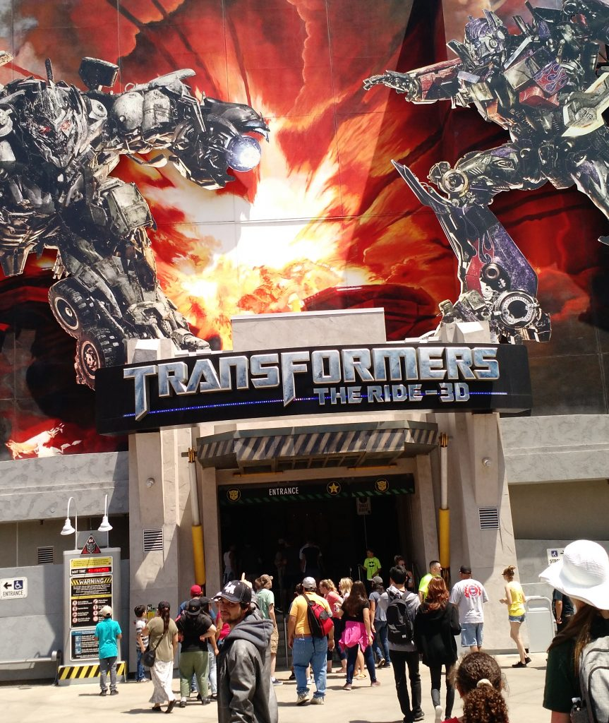 Viagem de cinema pela Califórnia: Parque da Universal